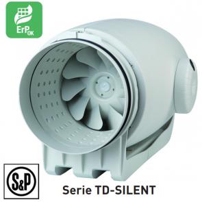 Ventilateur de conduit ultra-silencieux TD-SILENT - TD 350/125 SILENT de S&P