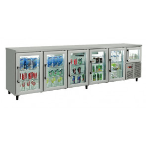 Torre refrigerada com portas de vidro e porta acima compressor - 600 Series