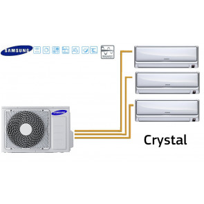 Samsung CRYSTAL Tri-Split AJ052FCJ3EH + 3 MH020FAEA