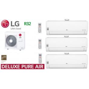 LG Tri-Split Deluxe Pure Air MU4R27.U40 + 2 AP09RT.NSJ + 1 AP12RT.NSJ