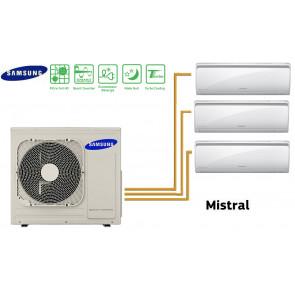 Samsung MISTRAL Tri-Split AJ068FCJ3EH+ 3 AR09FSFPD(K)GMN