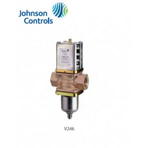 Vannes à eau pressostatiques Johnson Controls série V246