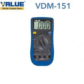 Multimètre digital VDM-151 de Value