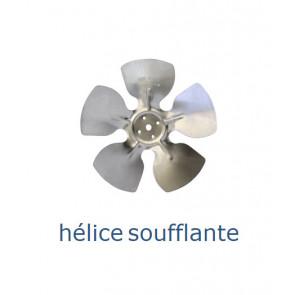 Hélice aluminium 172 mm - 28º - soufflante
