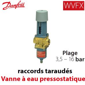 Válvula de água pressostáticas WVFX 20 Danfoss - 3,5-16 Barras