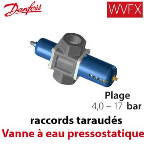 Válvula de água pressostáticas WVFX 40 Danfoss - 4-17 Barras