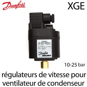 Régulateur de vitesse pour ventilateur de condenseur XGE-4C Danfoss